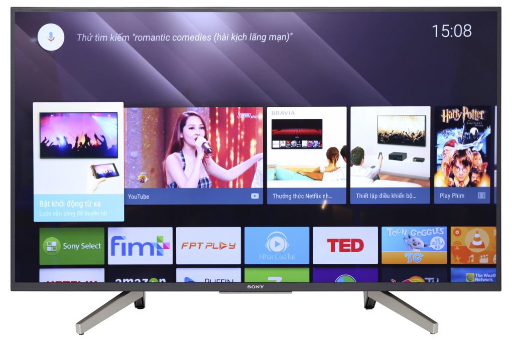 Android Tivi Sony 4K 43 inch KD-43X7500F Mới 2018